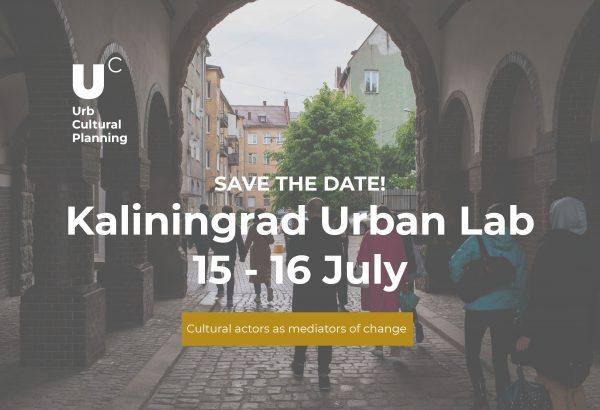kaliningrad urban lab, urb cultural, cultural planning