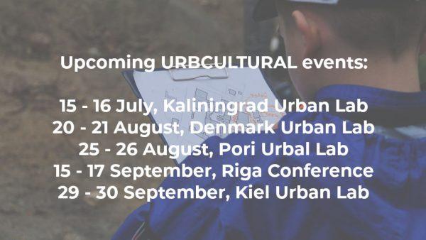 upcoming, urban lab, conference, urb cultural, cultural planning, kaliningrad, riga, pori, copenhagen, kiel, guldborgsund,